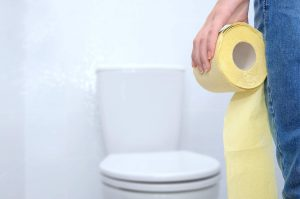 Toalettbesök efter förlossningen