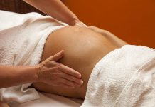gravid vikt Massage