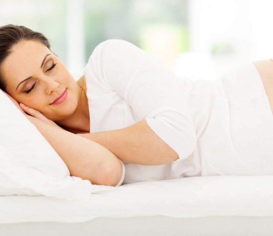sömn gravid