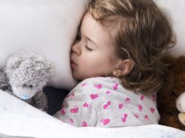 Barns sömnbehov vid olika åldrar