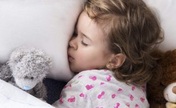Barn sömnbehov vid olika åldrar